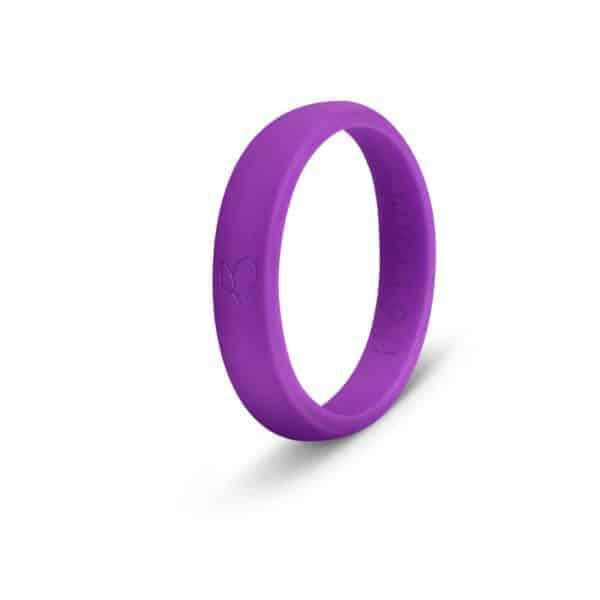 Purple Silicone Ring