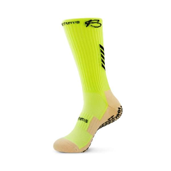 neon grip socks