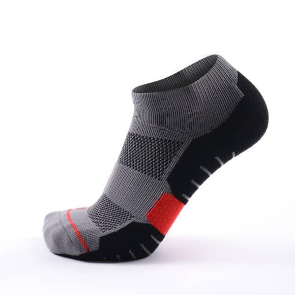 botthms black/grey running socks