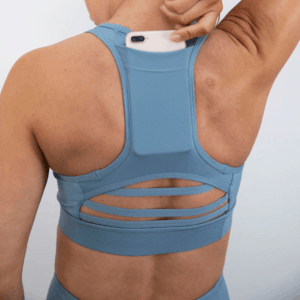 botthms Blue Power Bra with phone