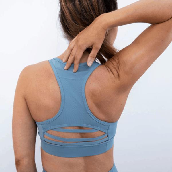 botthms Blue Power Bra backside