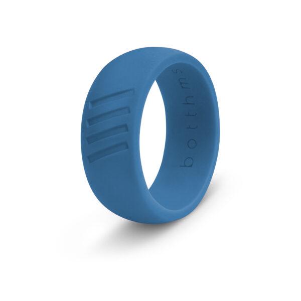 botthms blue stripes ring