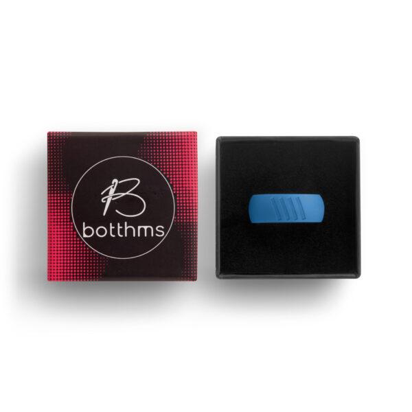 botthms blue stripes ring in box