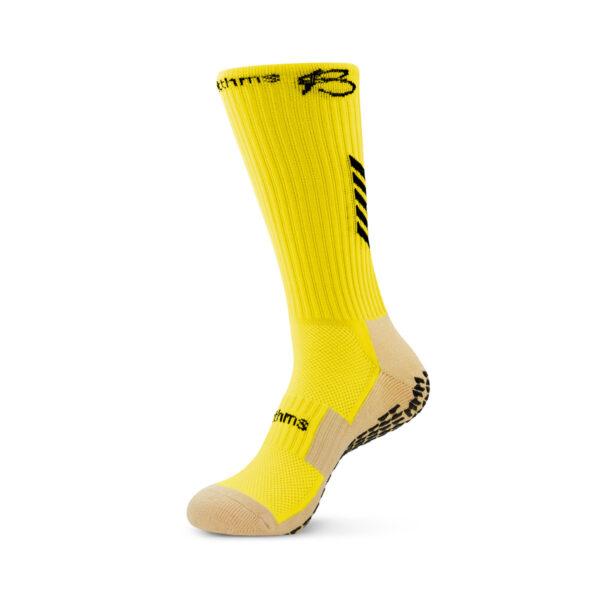 Yellow Grip Socks