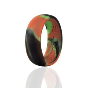 botthms Army Green Silicone Ring