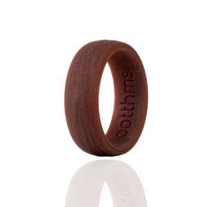 botthms brown tree silicone wedding ring