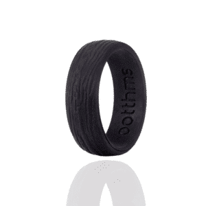 botthms black tree silicone wedding ring
