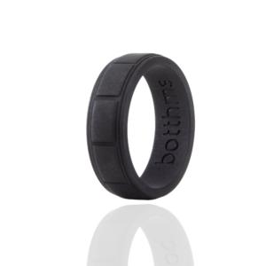 Black Lifestyle Silicone Ring