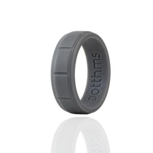 Grey Lifestyle Silicone Ring